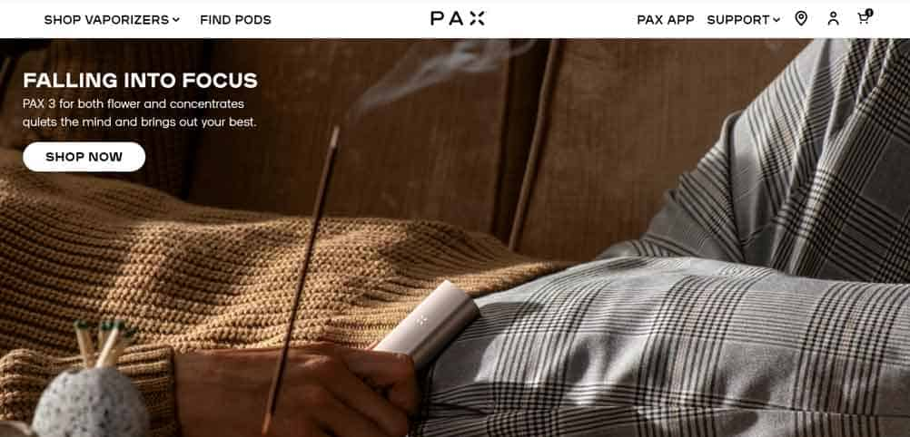 pax authorized online retailers pax website